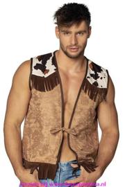 Cowboy Western Camel Vest