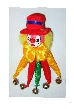 Clowns Broche 2 assorti