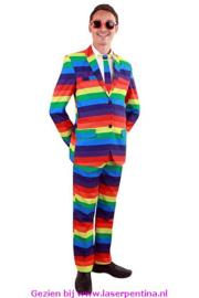 Regenboog Kostuum Heren