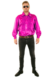 Ruches Blouse pink