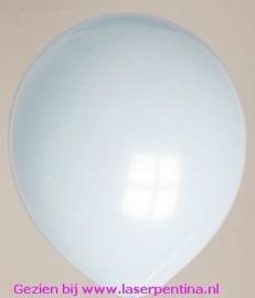 """Effen pastel lichtblauw Ballon 12"""" [16/100]"""