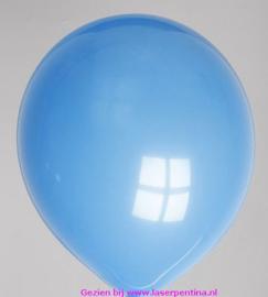 "Effen kleur Ballon pastel donker blauw 12"""