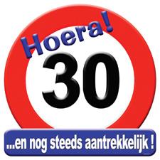 Verkeersbord '30'