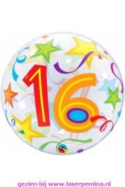"""Folie Ballon BUBBLE  Ø56 cm  """"16"""""""