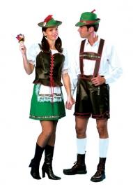 Dirndl Tiroler dame