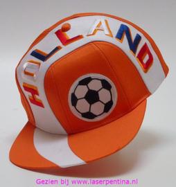 Baseballcap oranje Holland