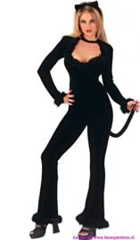 Catsuit zwarte Kat