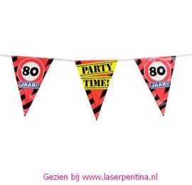 Vlaggenlijn 80 jaar PARTYTIME