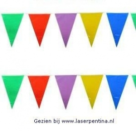 Vlaggenlijn gemengde Kleuren