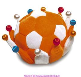Voetbalkroon oranje