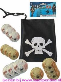 Piratenbuidel met ducaten