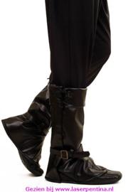 Beenkappen zwart per paar