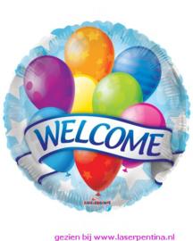 Folie ballon  Welcome