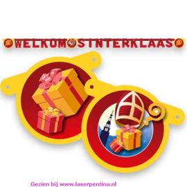 Letterslinger 'Welkom Sinterklaas'