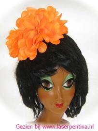Hawai Haarkam + Bloem oranje