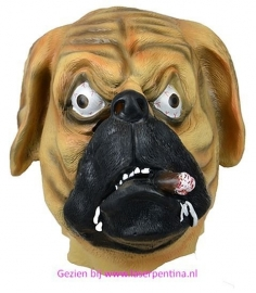 Hond met Sigaar Masker