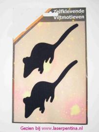 Stickers Vilt  Rat/Muis zelfklevend [2]