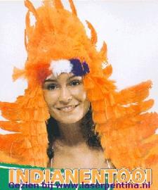 Indianentooi oranje