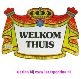 Kroonschild Welkom Thuis