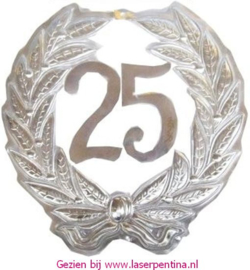 Jubileumkrans '25'