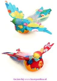 Mus gespreide Vleugels multi colour