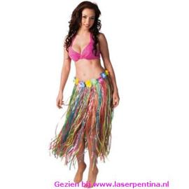 Hawaiirok multicolor 80 cm lang