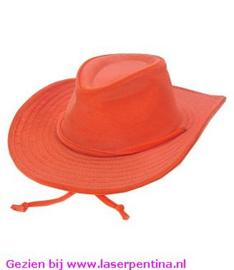 Cowboyhoed oranje