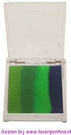 PXP aqua splitcake | m.groen | d.groen | lime | zw