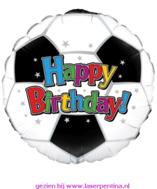 Folie Ballon Football Birthday