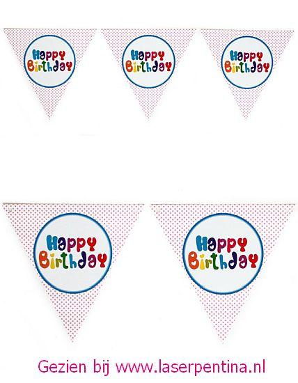 Guirlande Happy Birthday