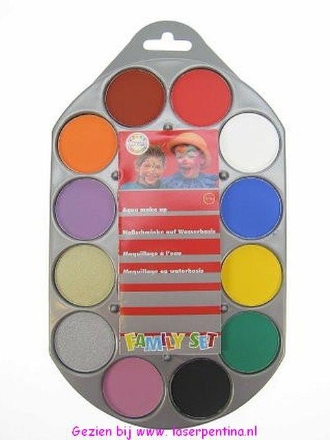 Schminkpallet 12 kleuren 80002