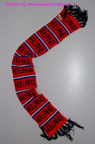 Sjaal Holland gebreid
