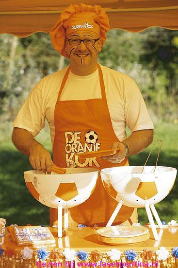 Schort 'de oranje Kok'