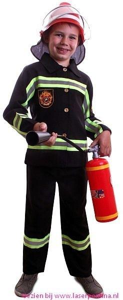 Brandweer zwart