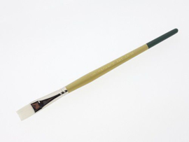 330111/4412-Cadence CA 986- plat penseel -wit synthetisch 1/2-12mm