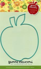 CDD10018-Die - Yvonne Creations - Apple
