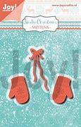 6002/1324 Joy Crafts Nordic Christmas - Mittens