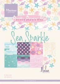 PK9163-Paperpad Sea sparkle by Marleen-A5