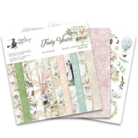 "117032/0038-Piatek13 - Paper pad Truly Yours 12 Truly Yours P13-TRU-08 12""x12"""