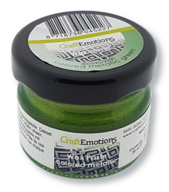 302690/2250-CraftEmotions Wax Paste metallic colored - groen-20 ml