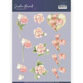 CD11522-3D Cutting Sheet - Jeanine's Art - Sensitive Moments - Calla Lily