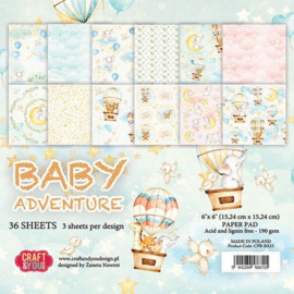CPS-BA30 Craft & You - Baby Adventure 30.5x30.5 cm