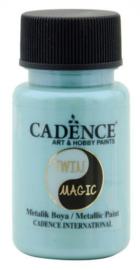 301245/0011-Cadence Twin Magic metallic verf blauwgroen-50 ml