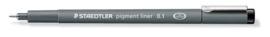 320300/0171-Staedtler pigment liner fineliner- 0,1 mm- zwart