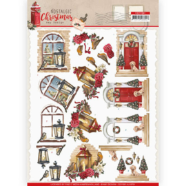 CD11561-3D cutting sheet - Amy Design - Nostalgic Christmas - Warm Christmas