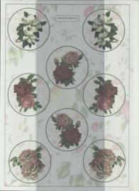 BOWOC 100-0006-KN bloemen metalic knipvel