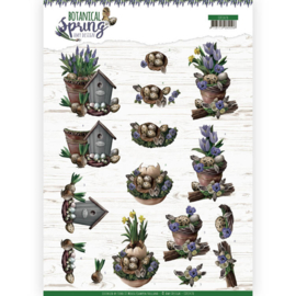 CD11470-3D cutting sheet - Amy Design - Botanical Spring - Spring Arrangement