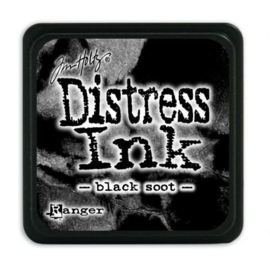 Ranger Distress Mini Ink pad - Black soot- TDP39860 Tim Holtz