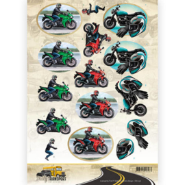 CD11036 - 3D Knipvel - Amy Design - Daily Transport - Motorcycling