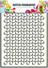470.715.113-Dutch Doobadoo Dutch Mask Art Geomatric Square A5